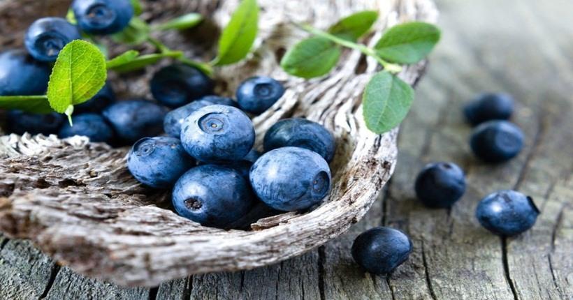 Thực phẩm màu tím: Nhóm các loại trái cây
