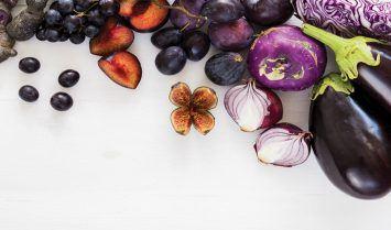 Thực phẩm màu tím