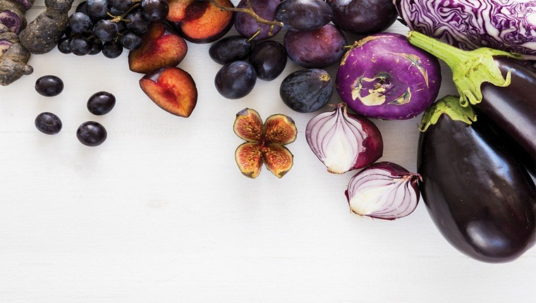 """Khám phá những """"siêu"""" lợi ích của thực phẩm màu tím cho sức khỏe"""