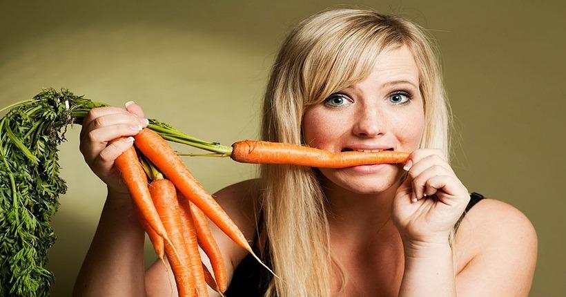 Thực phẩm tốt cho mắt cận – Cà rốt