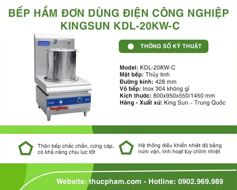 bep-ham-don-dung-dien-cong-nghiep-kingsun-kdl-20kw-c