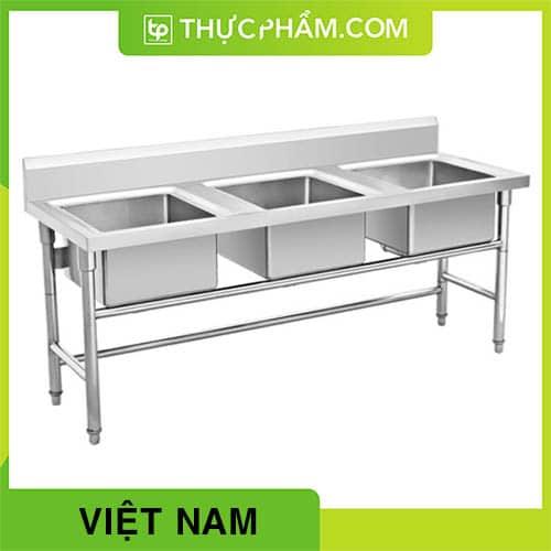 Chậu Rửa Inox Ba Hộc Việt Nam