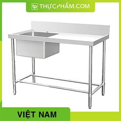 Chậu Rửa Đơn Có Bàn Việt Nam