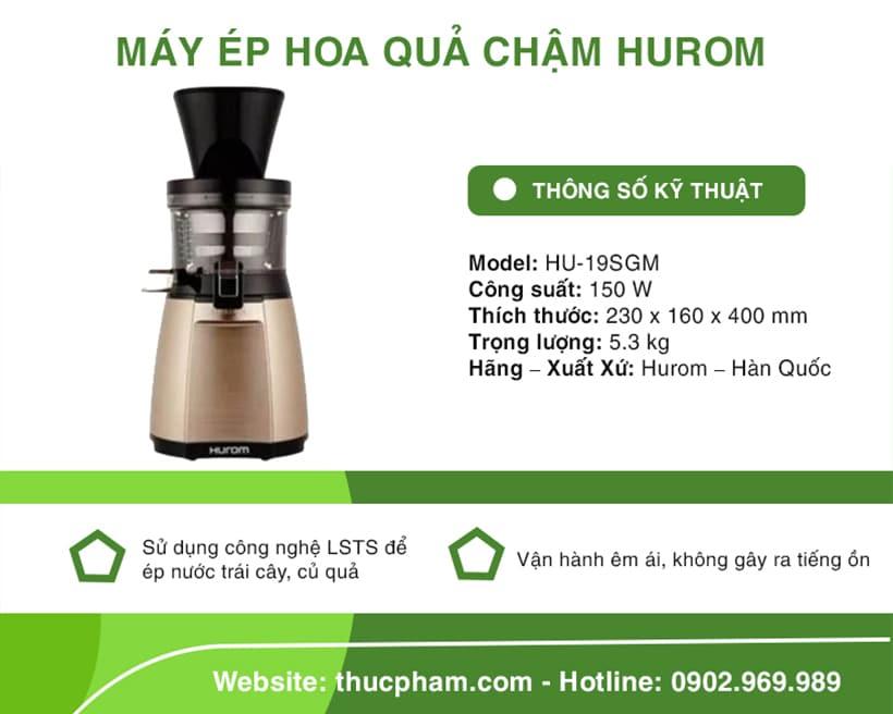may-ep-hoa-qua-cham-hurom-hu-19sgm