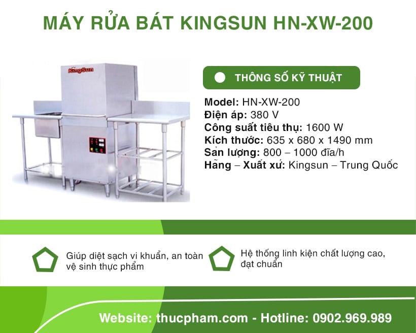 may-rua-bat-kingsun-hn-xw-200