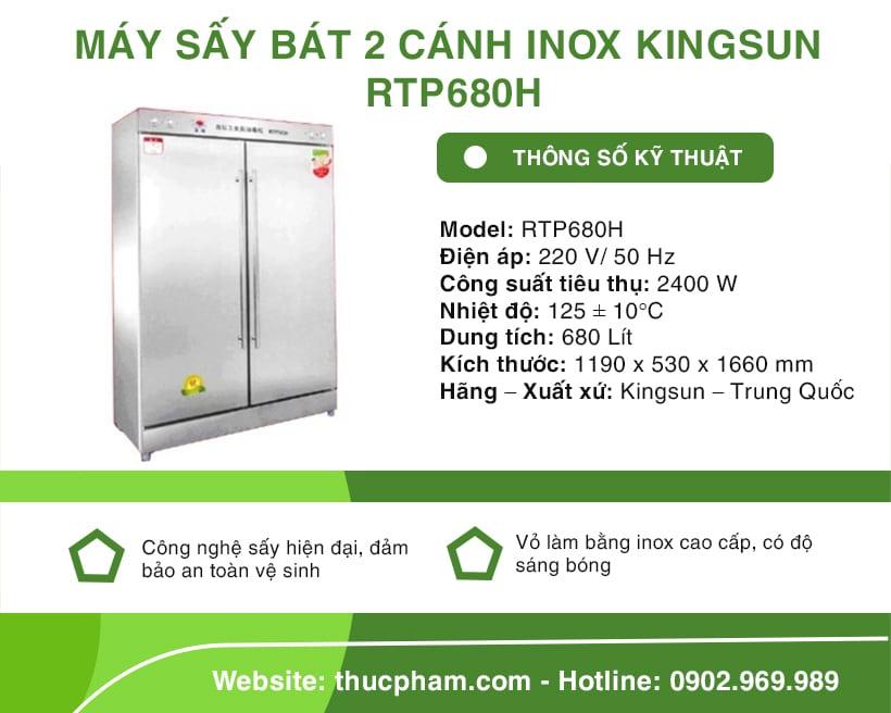 may-say-bat-2-canh-inox-kingsun-rtp680h