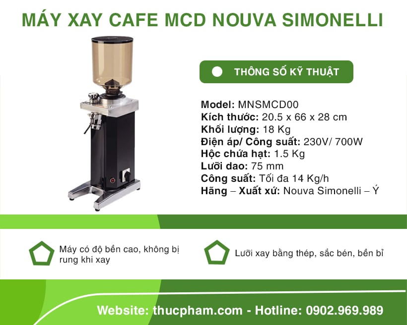 may-xay-cafe-mcd-nouva-simonelli