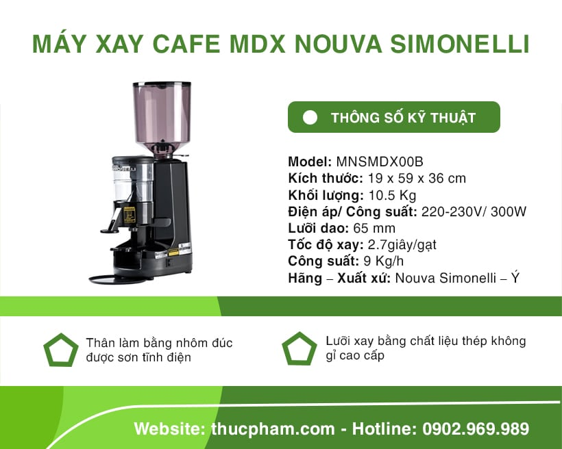 may-xay-cafe-mdx-nouva-simonelli