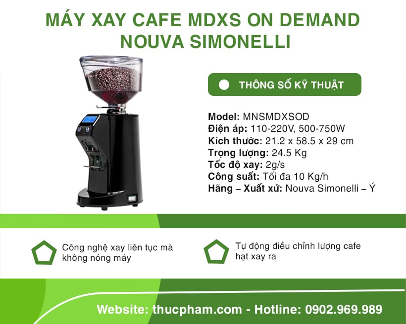may-xay-cafe-mdxs-on-demand-nouva-simonelli