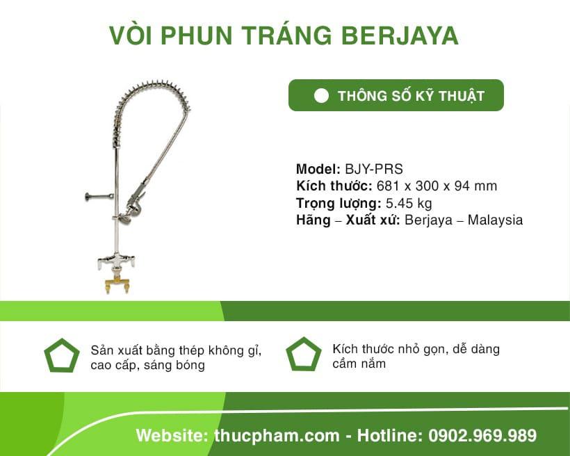 Vòi Phun Tráng Berjaya