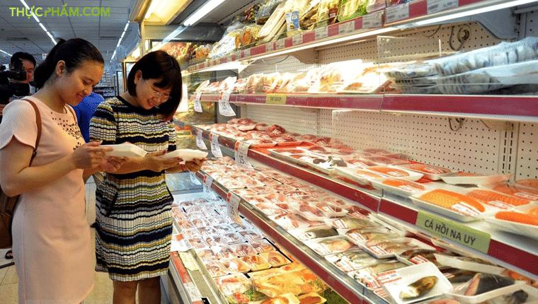 mua thực phẩm nhập khẩu