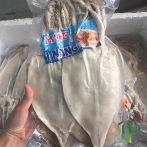 Mực 1 Nắng Size 3 Con 1 kg