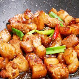 Thịt Ba Chỉ Rim Chua Ngọt