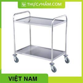 Xe Đẩy Inox 2 Tầng Việt Nam