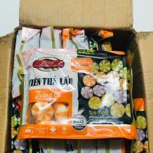 Bánh Bao Nhân Trứng Cá