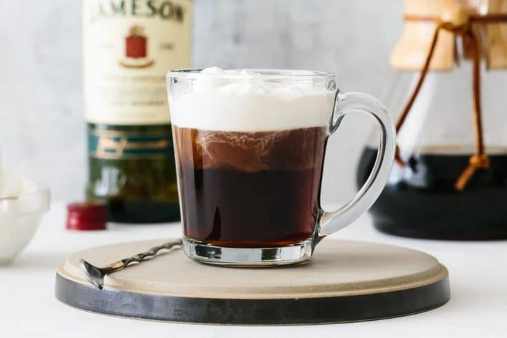 cach lam irish coffee