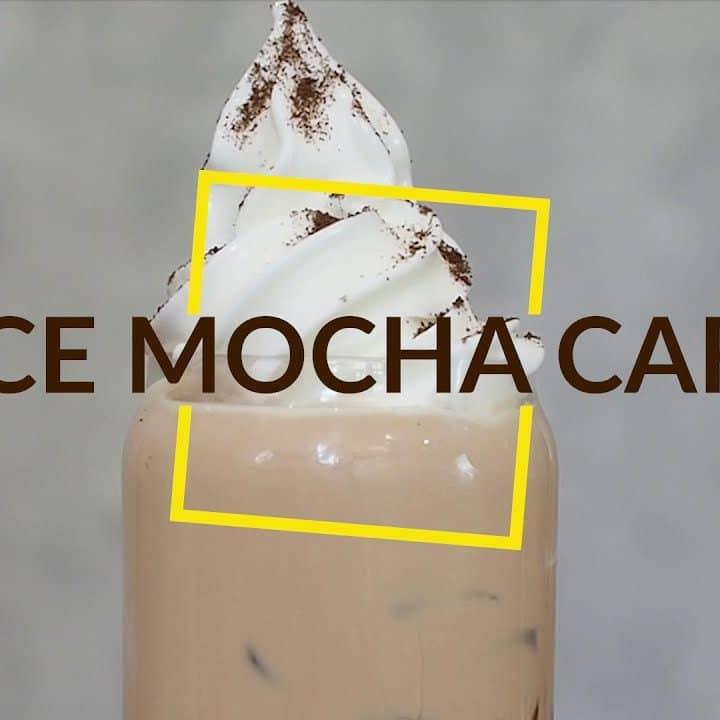 Cách làm ICE MOCHA CAFE