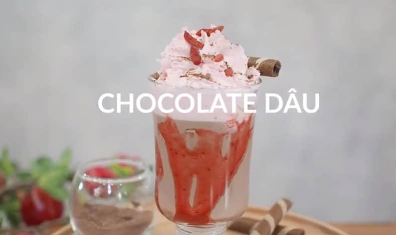chocolate whipping dâu