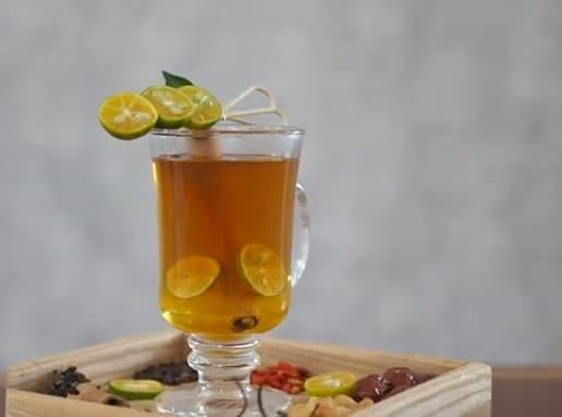 hồng trà quế quất mật ong