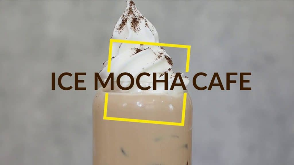 ice mocha cafe