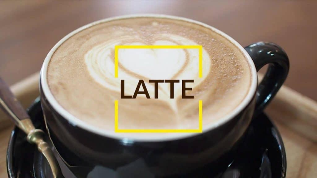 cách pha latte