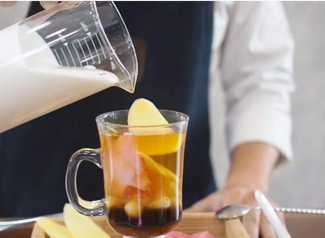 trà sen gừng bí đao