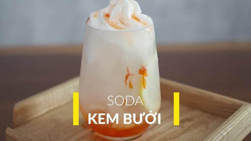 soda kem bưởi