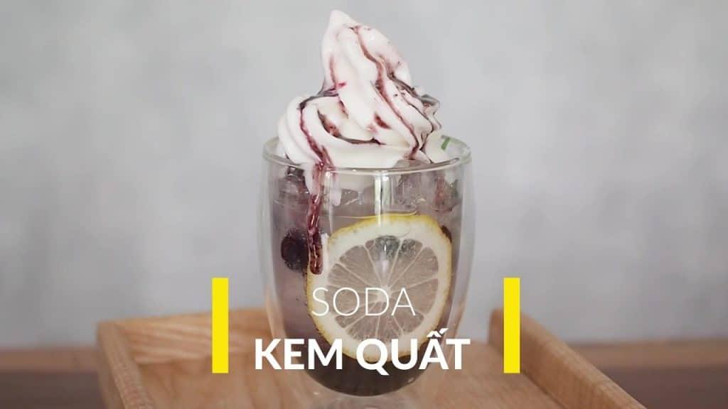 soda kem quất
