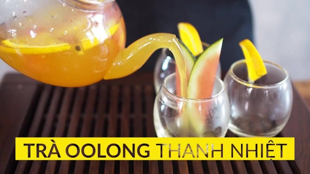 tra oolong thanh nhiet