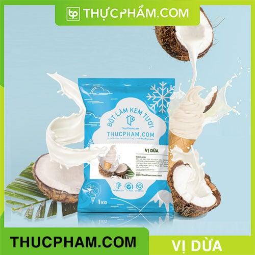 Bột Làm Kem Tươi ThucPham.com Vị Dừa