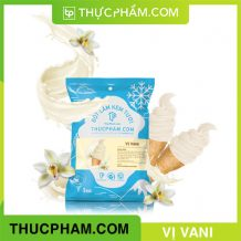 bột làm kem tươi thucpham.com vị vani