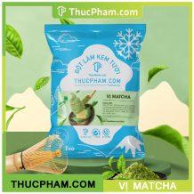 Bột làm kem tươi Thucpham.com vị matcha