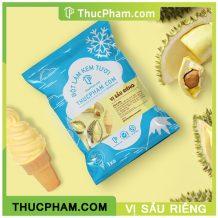 Bột làm kem tươi Thucpham.com vị sầu riêng