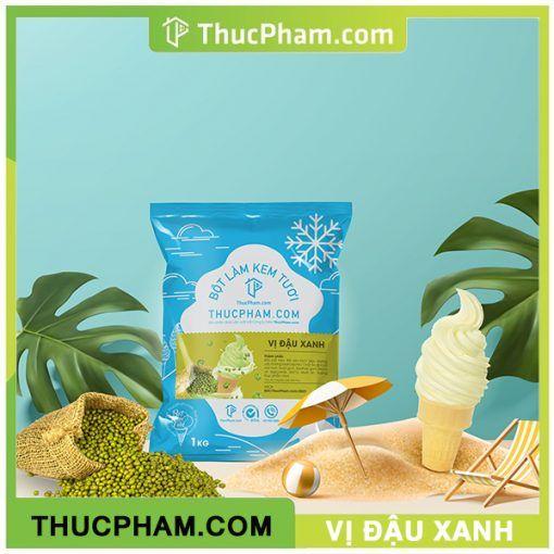 Bột Kem Tươi thucpham.com vị Đậu Xanh