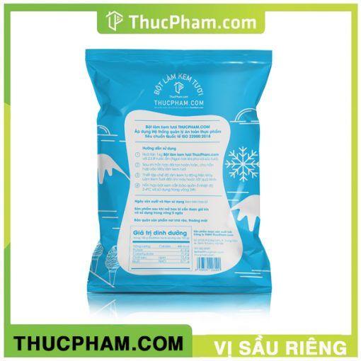 Bột Kem Tươi thucpham.com vị Sầu Riêng